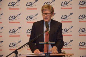 Präsident LSV Rede