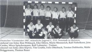 Vizemeister Handball 1987