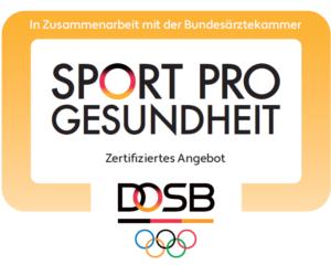 Sport pro Gesundheit Logo