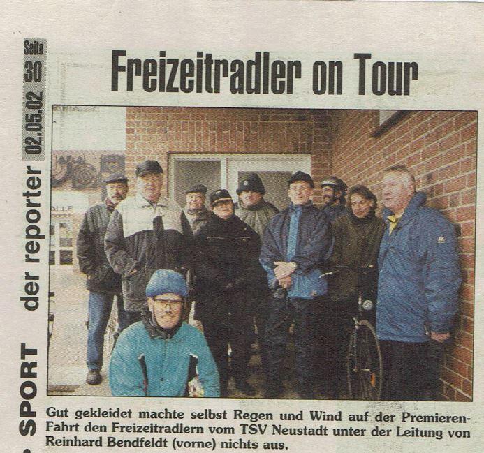 20-jähriges Jubiläum der Radsportsparte